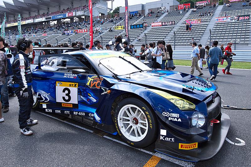 ポールポジションを獲得したST-Xクラス 3号車「ENDLESS GT-R」