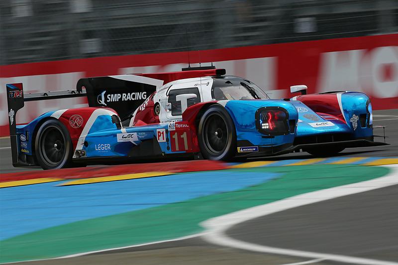 ジェイソン・バトン組のBR ENGINNRING BR1-AER(SMP RACING)