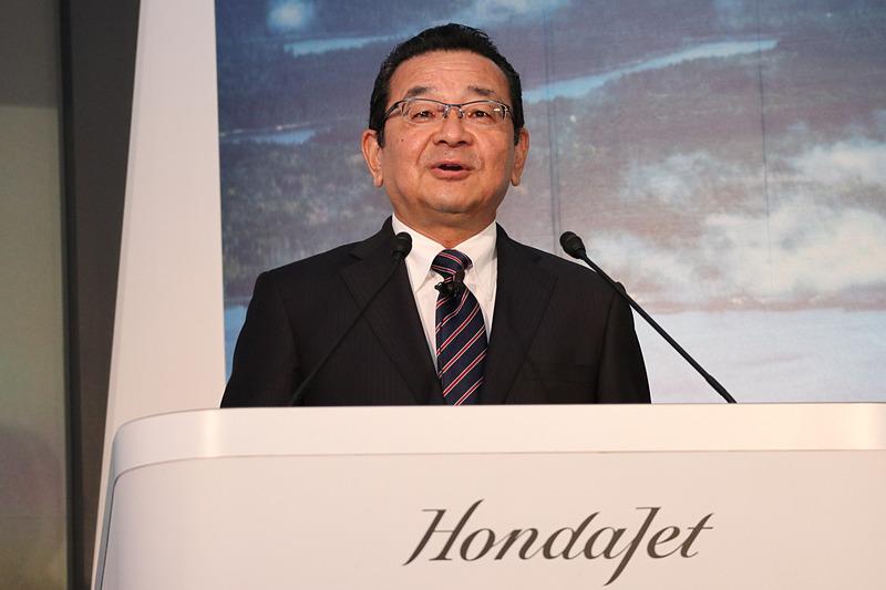 本田技研工業株式会社 代表取締役社長 八郷隆弘氏