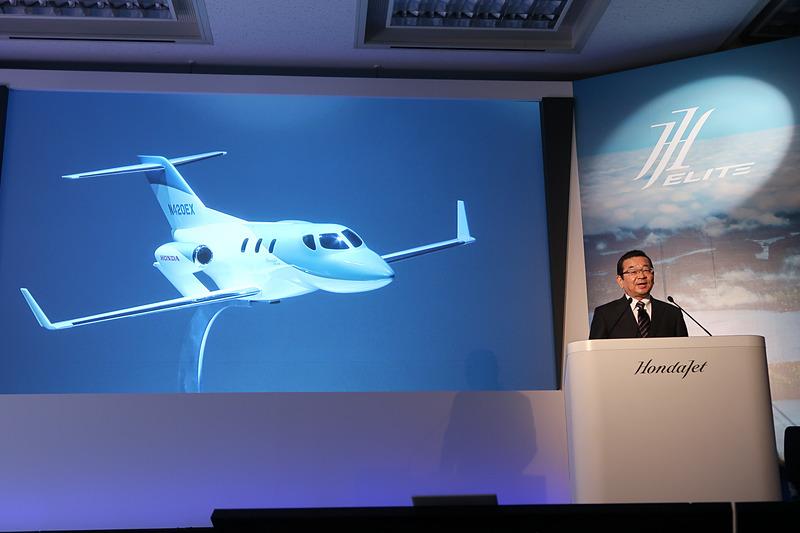 1986年からスタートした小型ジェット機開発の原動力になったのは「ホンダがやるからには、今までにない航空機を創りたい」という思いと語る八郷氏