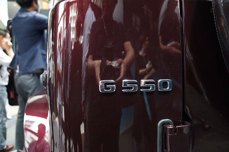 G 550に搭載されるV型8気筒4.0リッター直噴ツインターボ「M176」エンジン