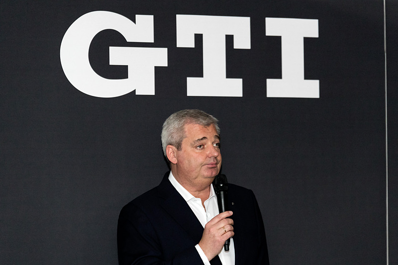 GTIシリーズについて語ったフォルクスワーゲン グループ ジャパン株式会社 代表取締役社長のティル・シェア氏