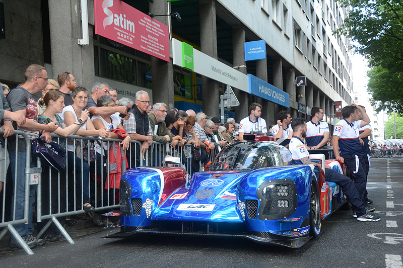 LMP1クラス 11号車のBR Engineering BR1-AER(SMP RACING)
