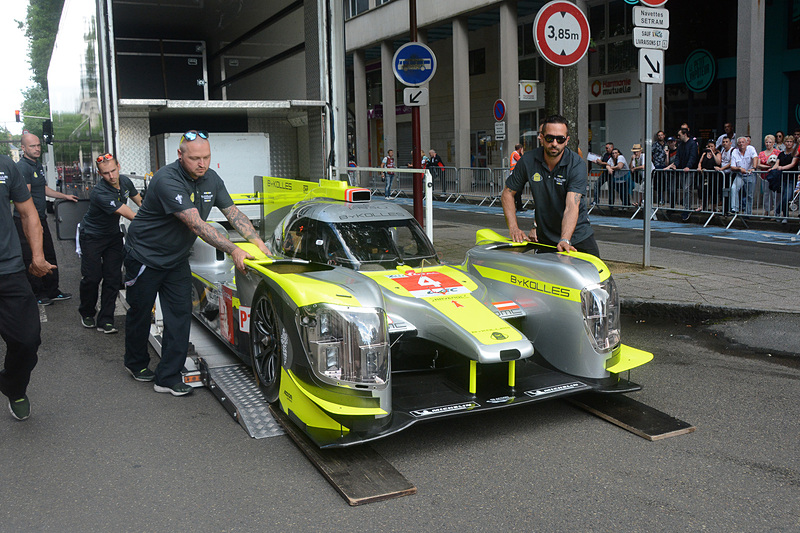 LMP1クラス 4号車のENSO CLM P1/01-Nismo(BYKOLLES RACING TEAM)