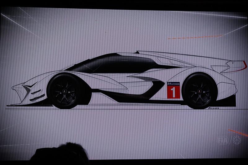 Hyper Car GT Prototype(仮称)。共通ECUを使用する