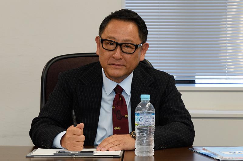 トヨタ自動車株式会社 代表取締役社長 豊田章男氏
