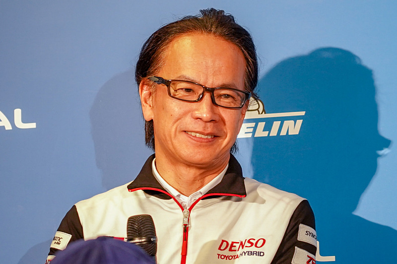 トヨタ自動車株式会社 副社長 兼 GAZOO Racing Company プレジデント 友山茂樹氏