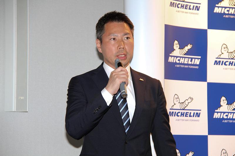 日本ミシュランタイヤ株式会社 商用車タイヤ事業部 マーケティング部 ブランド戦略マネージャーの大河内昌紀氏