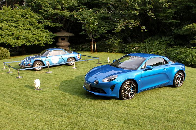 フランス大使館で新型「A110」の50台限定車「プルミエール・エディション」の発表会を開催