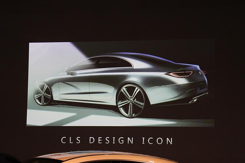 CLSはメルセデスデザインのアイコン的存在