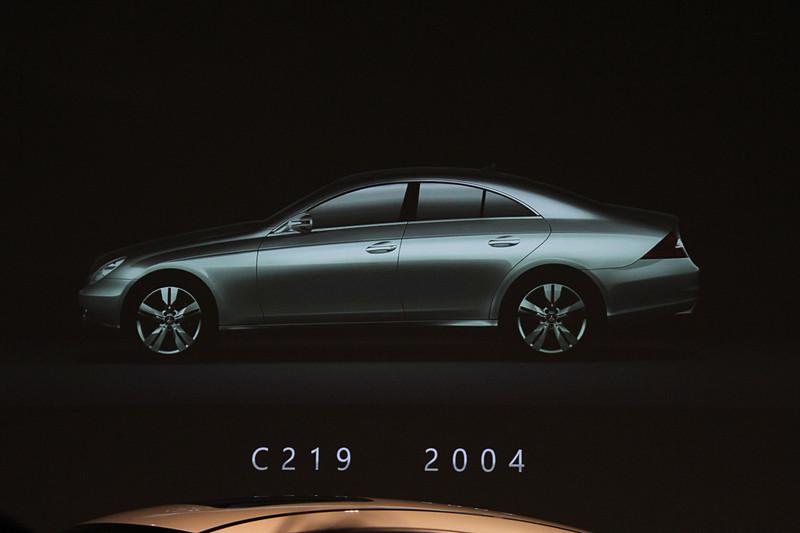 2004年に登場した初代CLS(C219)