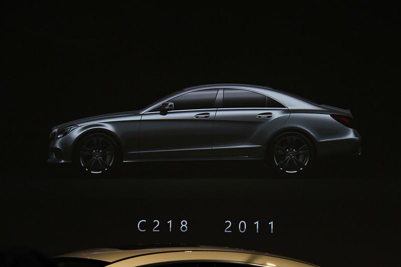 2011年に登場した2代目CLS(C218)
