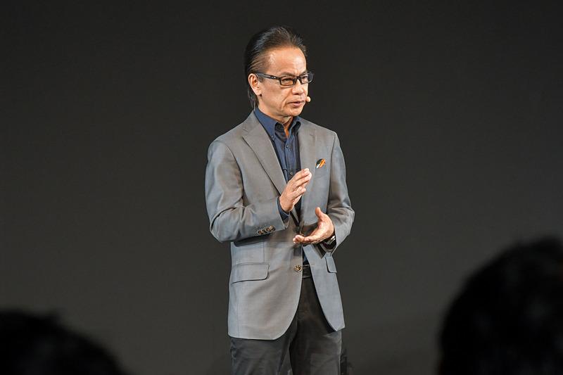 コネクティッドカンパニーと、GAZOO Racing Companyのプレジデントを兼任するトヨタ自動車株式会社 副社長 友山茂樹氏