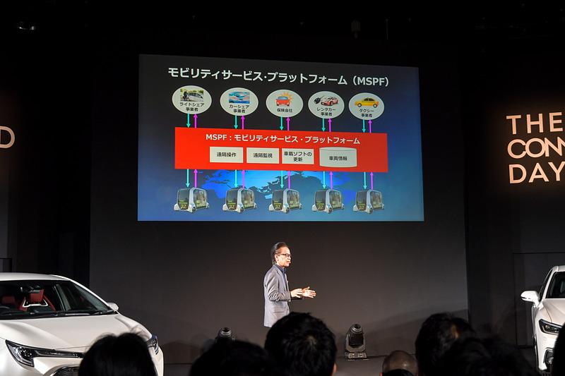 eパレット コンセプトが実現する「MSPF(モビリティサービスプラットフォーム)」