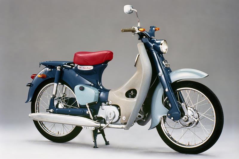 1958年8月に発売された初代「スーパーカブ C100」