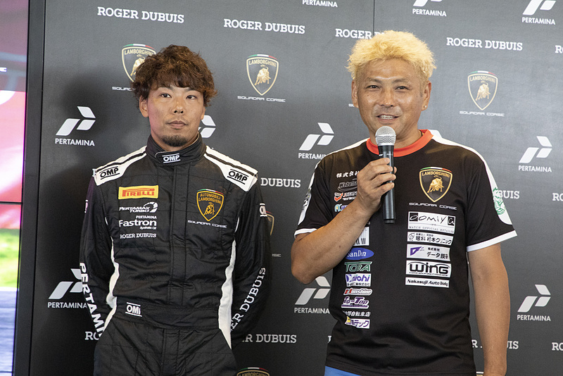 PRO-AMクラス #38の松本武士選手と落合俊之選手
