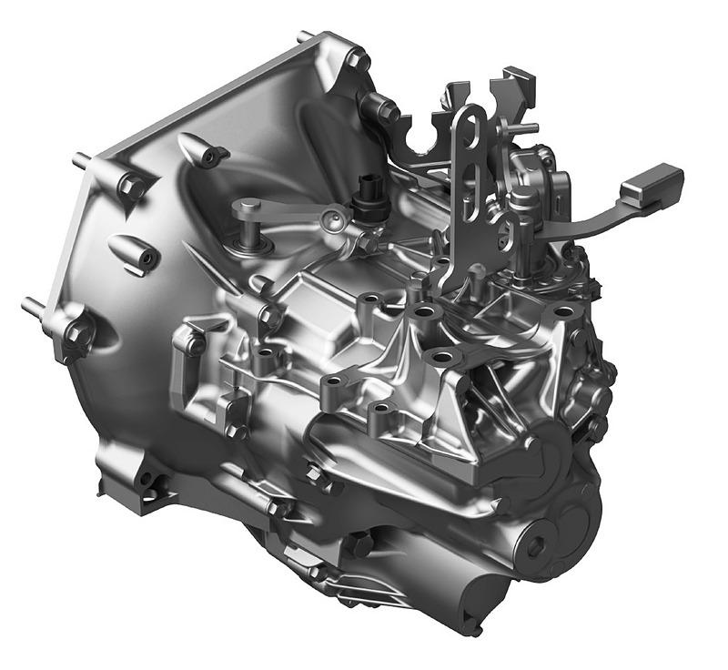 「S660」のミッドシップ用6速MTをベースに、FFおよび4WD向けに開発が行なわれた