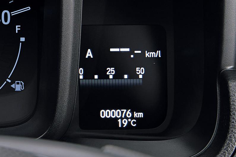 Honda SENSING搭載車に設定されるマルチインフォメーション・ディスプレー