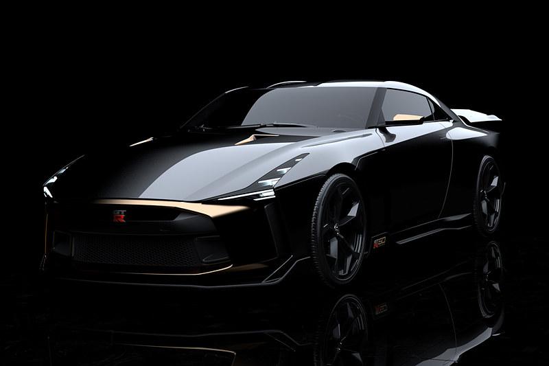 日産自動車とイタルデザインが共同開発したプロトタイプ車「Nissan GT-R50 by Italdesign」