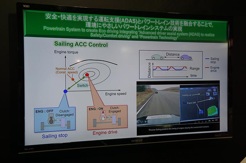 燃費向上のためにステレオカメラを活用する技術