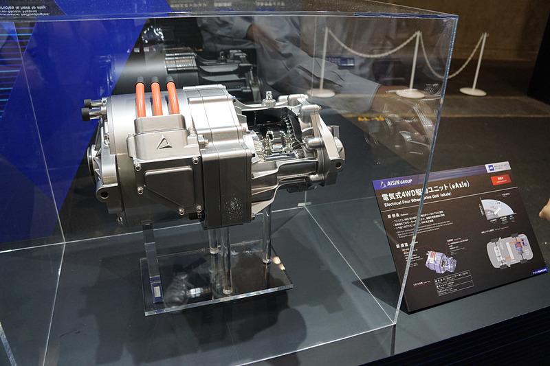電気式4WDユニット
