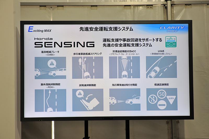 Honda SENSINGの機能について