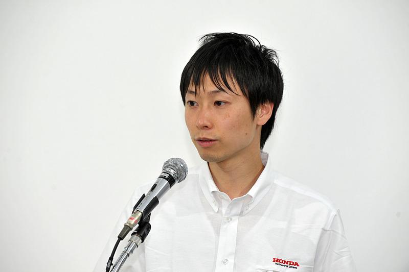 本田技研工業株式会社 商品企画担当 森谷翔太氏