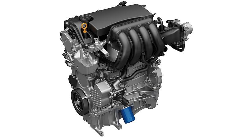 最高出力77kW(105PS)/5500rpm、最大トルク134N・m(13.7kgf・m)/5000rpmを発生する直列4気筒DOHC 1.5リッターアトキンソンサイクルエンジン