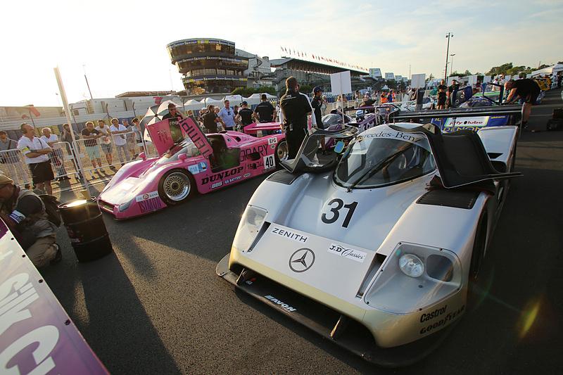 レースでは走らなかったメルセデス・ベンツ C11(1989年)