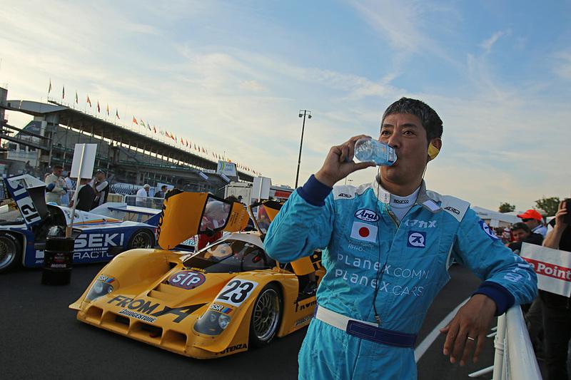 日産 R90CK(1990年)で参戦する久保田克昭氏。予選2番手グリッドをゲット
