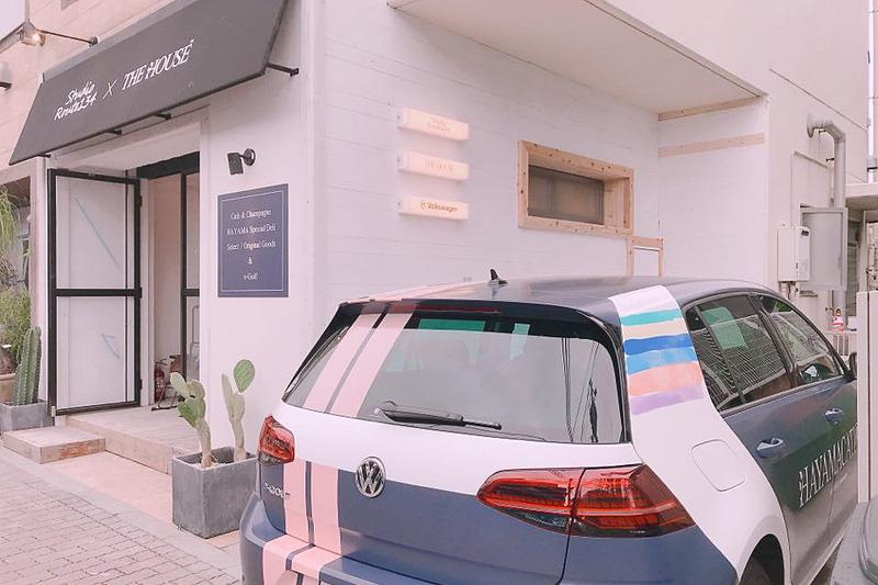 コラボカフェではTHE HOUSEのオリジナルグッズ、Studio Route134がセレクトしたアパレル製品や雑貨などの販売も実施