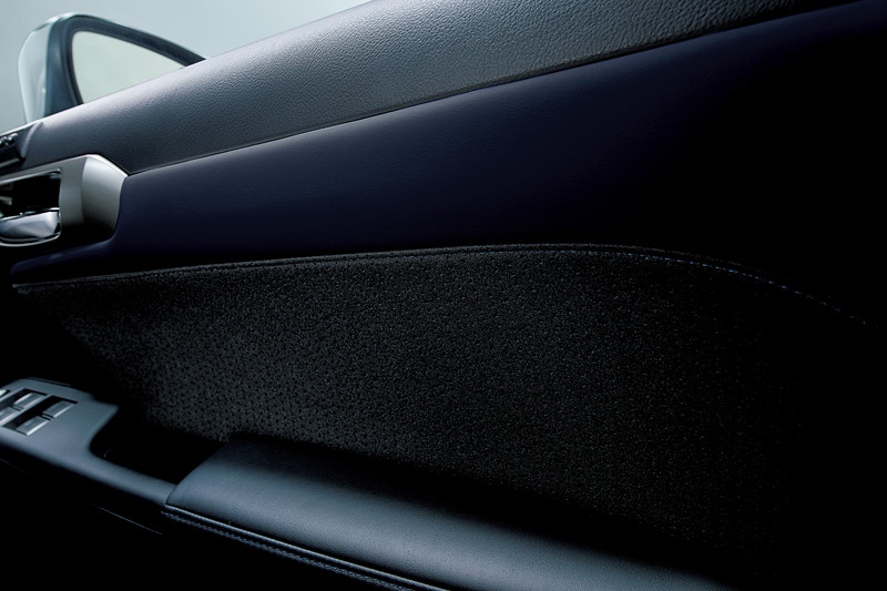 ドアトリム(特別仕様車専用L tex/ファブリック<ブラック/ブルー・ブルーステッチ>