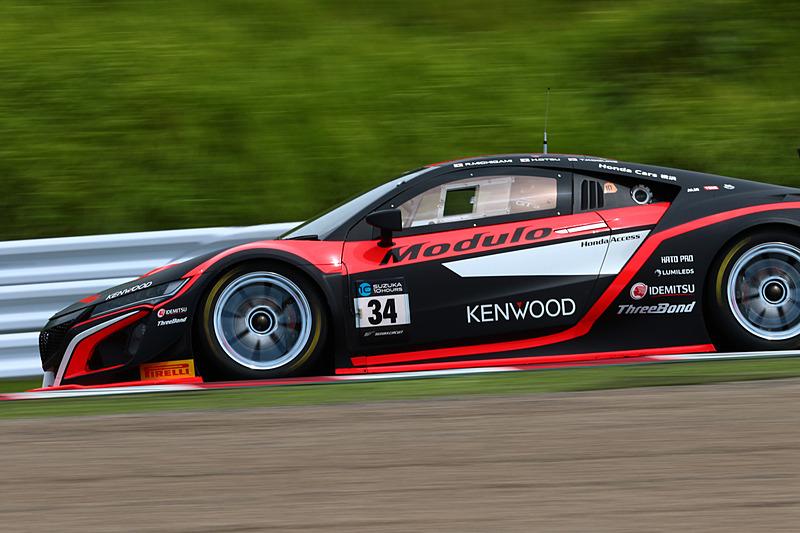 参加するHonda NSX GT3の中で予選最上位となったModulo Drago CORSE