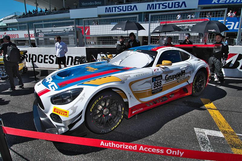 888号車 Mercedes-AMG Team GruppeM Racing(Mercedes-AMG GT3、ラファエル・マルチェッロ/マロ・エンゲル/トリスタン・ヴォーティエ組)