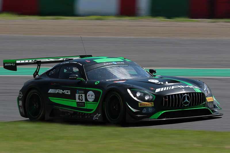 43号車 Mercedes-AMG Team Strakka Racing(Mercedes-AMG GT3、ルイス・ウィリアムソン/マキシミリアン・ゲーツ/アルバロ・パレンテ組)