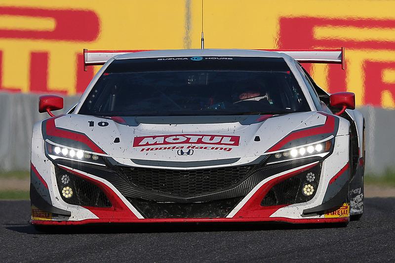 10号車 Honda Team MOTUL(Honda NSX GT3、山本尚貴/武藤英紀/中嶋大祐組)