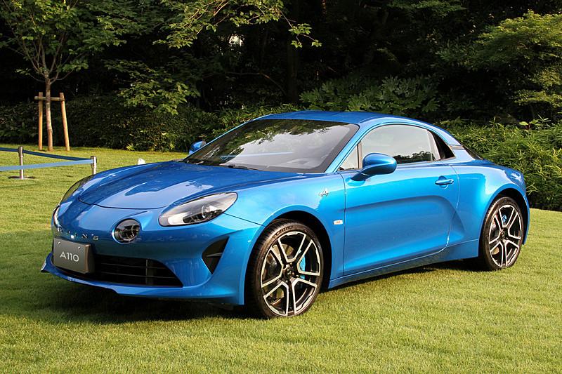 新型ミッドシップスポーツモデル「A110」(写真は50台限定車「プルミエール・エディション」)