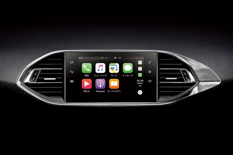 Apple CarPlayに対応するスマートフォン接続機能「Peugeot ミラースクリーン」