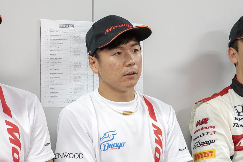 大津選手もタイヤの使い方に苦労していた。10号車、777号車を含めてNSX勢ではトップタイムだが、納得していない様子
