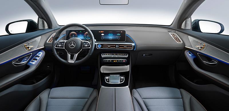 クロスオーバーSUVの新型EV(電気自動車)「EQC」