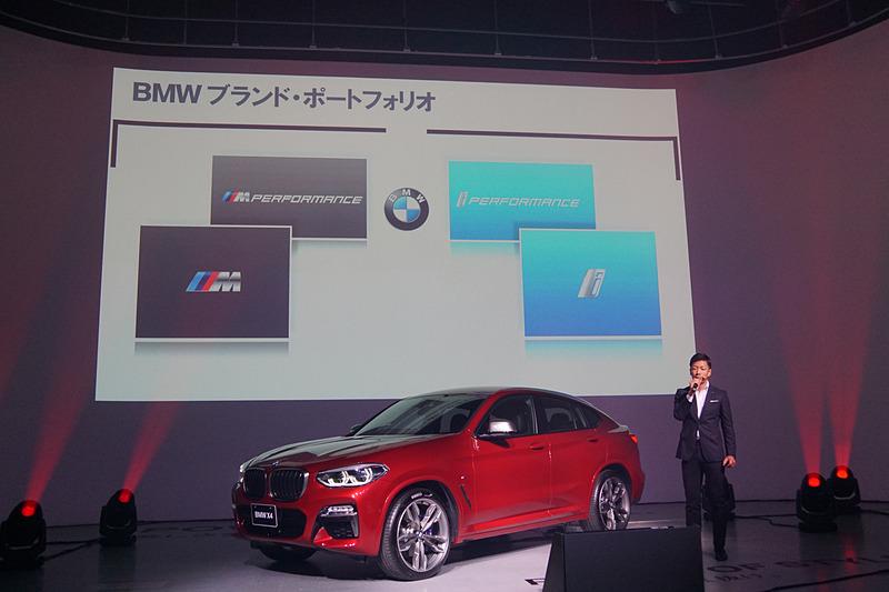 ビー・エム・ダブリュー株式会社 営業ディビジョン BMW M セールス・マネージャー 松井優希氏からはBMW Mのモデル・ラインアップについて、現在のラインアップから倍増する将来像が示された
