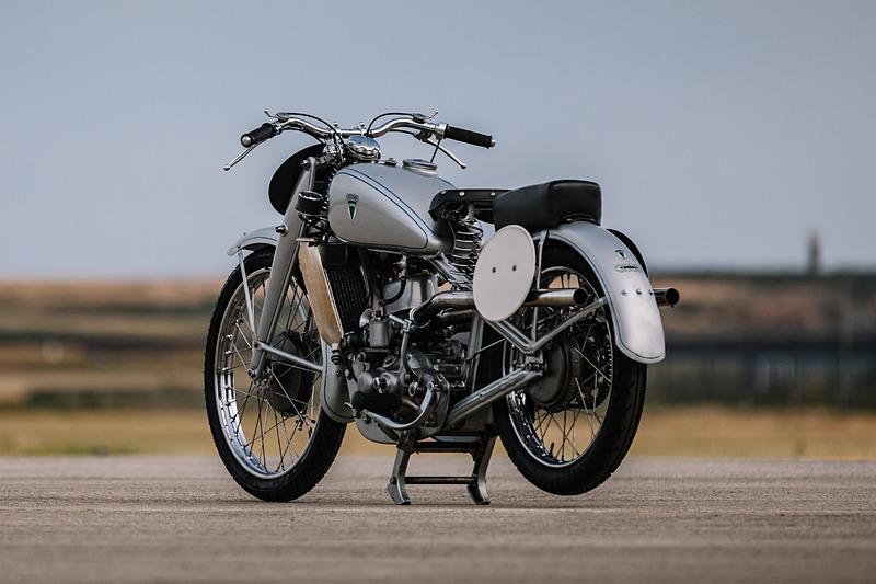 DKWのモーターサイクル「SS 250」