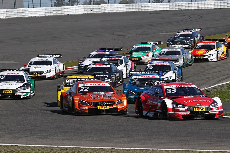 レース2のスタートとバックショット