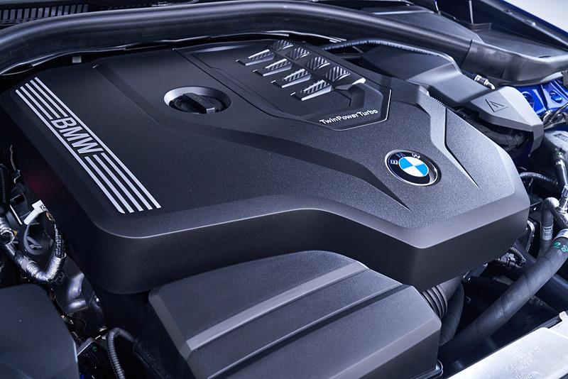 新型3シリーズ セダンのエンジン