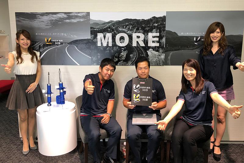 新製品の開発エピソードを聞かせてくれた、KYBの柴田さんと古田さん。インタビューの模様は、KYB公式Webサイトで近日公開予定です