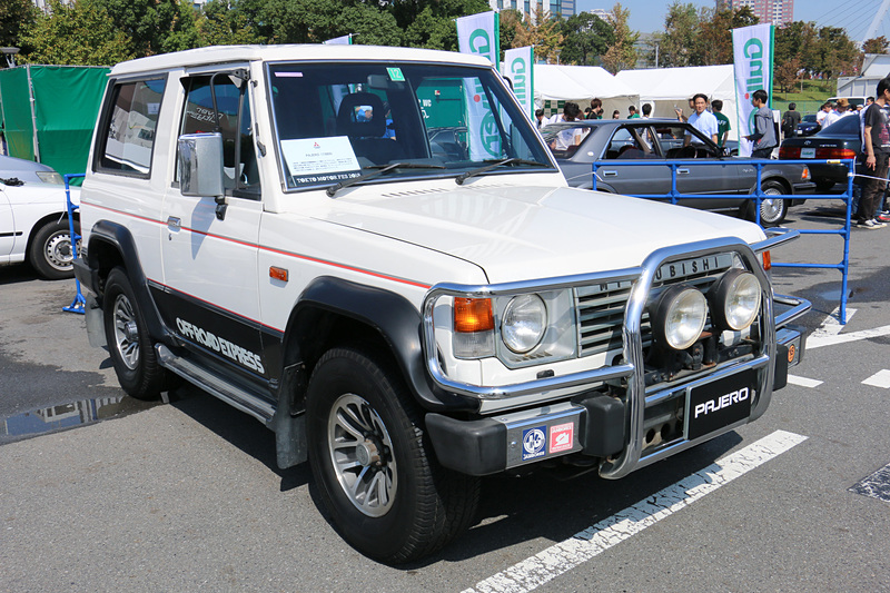 三菱自動車「パジェロ」