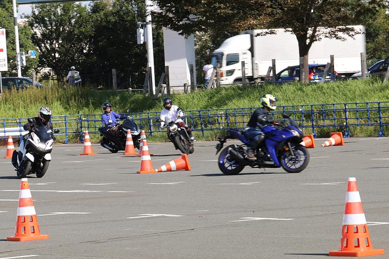 多彩なバイクが用意された「最新2輪車試乗体験」