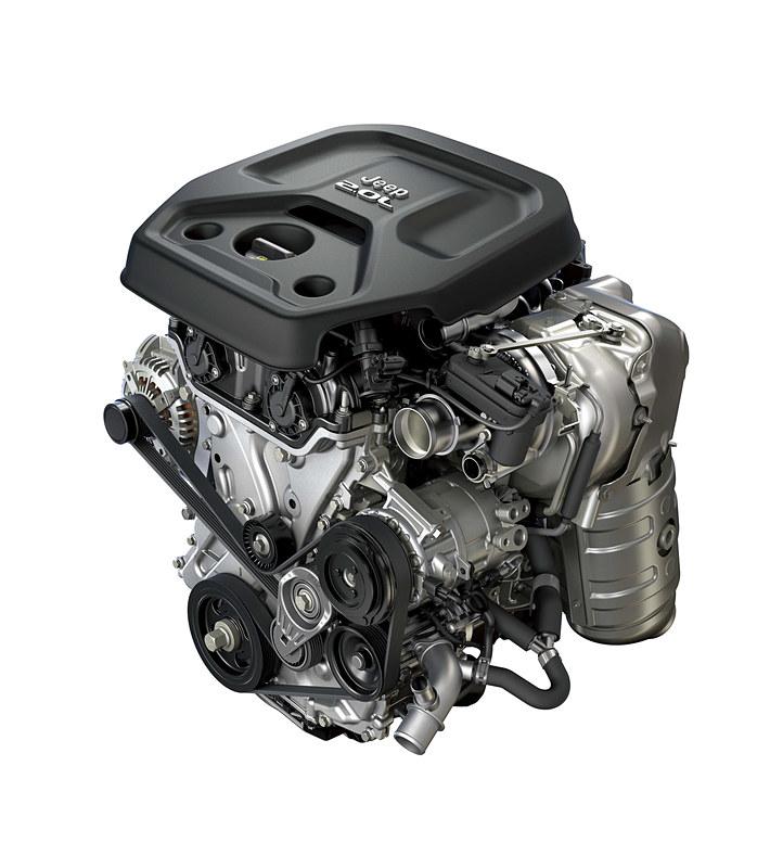 「Unlimited Sport」に搭載される最高出力272PS、最大トルク400Nmを発生する新開発の直列4気筒DOHC 2.0リッターターボエンジン