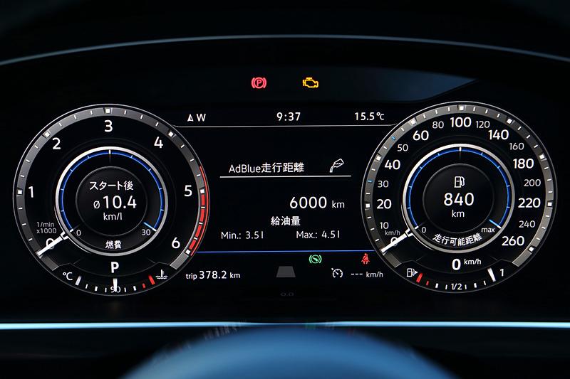 インテリアもガソリン仕様から大きな変更はないが、センターコンソールにアクティブコントロールスイッチが新たに装備され、走行モードとして「オンロードモード」「スノーモード」「オフロードモード」「オフロードカスタムモード」から選択可能