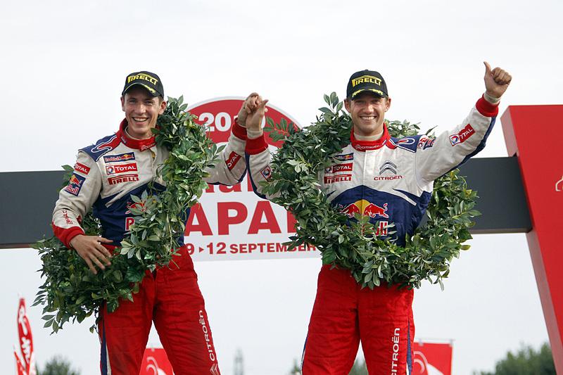 セバスチャン・オジエ(右)/ジュリアン・イングラシア(左)組が2019年のWRCでシトロエン・レーシングに復帰